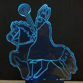 LED-lamp Sinterklaas op ijslander