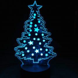 LED lamp Kerstboom