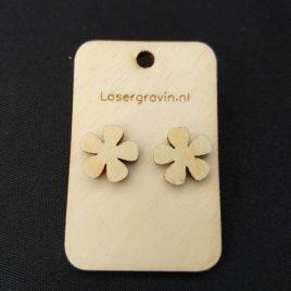 oorbellen bloem